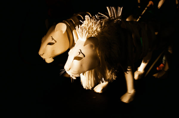 OnStagecréatures animalières d'Orfeo & Majnun © Tous droits réservés(1)
